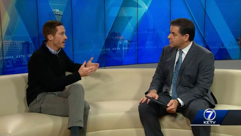 Eric Van De Graaff talks to KETV about holiday heart syndrome