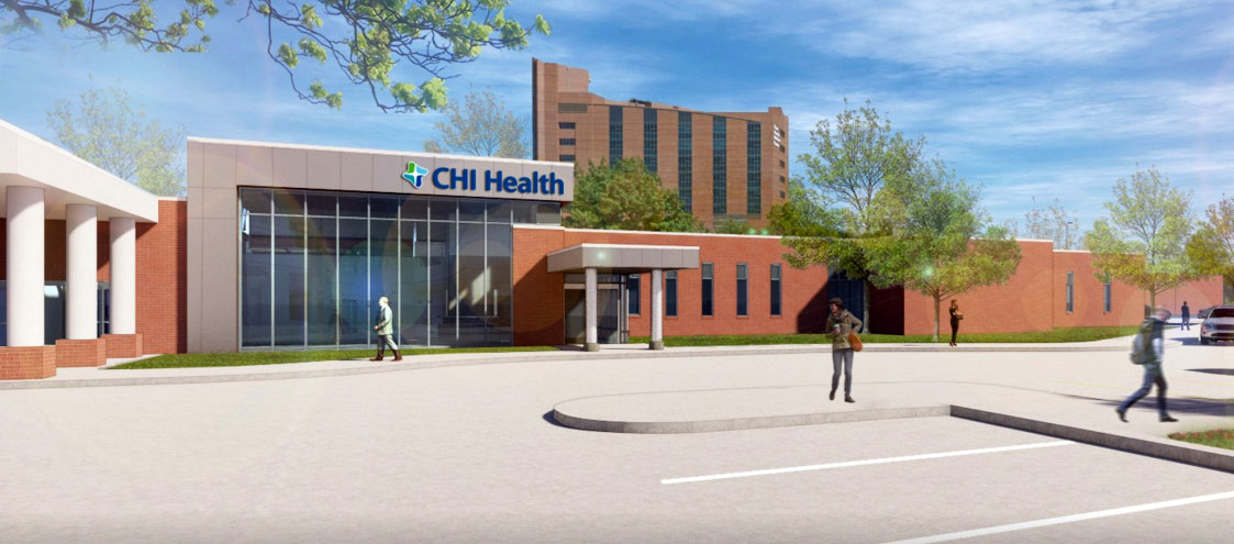 CHI Health St. Francis Surgery Rendering